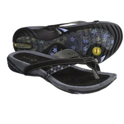 Jambu Capetown Sandals (For Women) in Black/Mint
