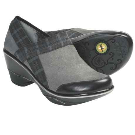 Jambu Cassey Clogs (For Women) in Grey