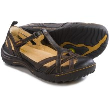 Jambu Charley Nubuck Sandals (For Women) in Black Earth - Closeouts
