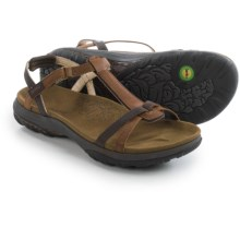 Jambu Charlotte Leather Sandals (For Women) in Chocolate Brown - Closeouts