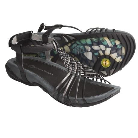 Jambu Chatham Sandals (For Women) in Black