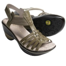Jambu Cinnamon Sandals - Leather (For Women) in Olive - Closeouts
