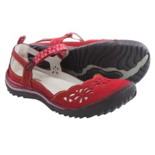 Jambu Deep Sea Sandals - Nubuck (For Women) in Red - Closeouts