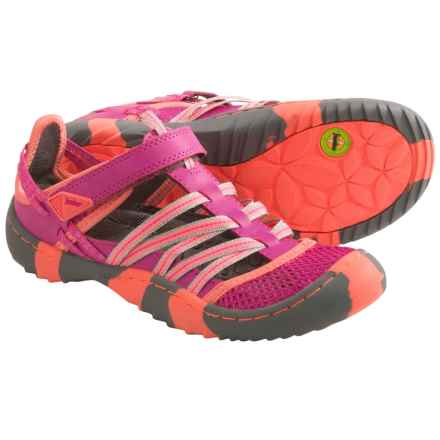 Jambu Dusk 2 Sandals (For Little and Big Kids) in Fuchsia/Neon Coral - Closeouts