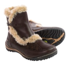 Jambu Eskimo Winter Boots - Leather (For Women) in Dark Brown - Closeouts
