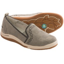 Jambu Gabby Shoes - Canvas, Slip-Ons (For Women) in Grey - Closeouts