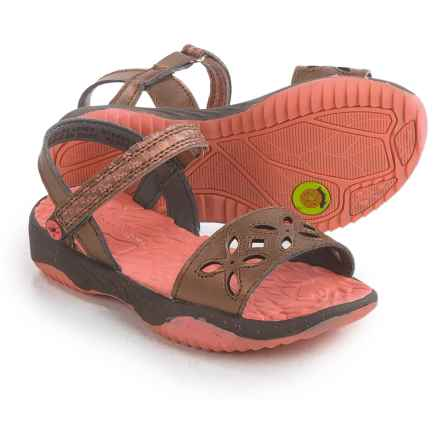 Jambu Ilia Sandals (For Little and Big Girls) in Bronze - Closeouts