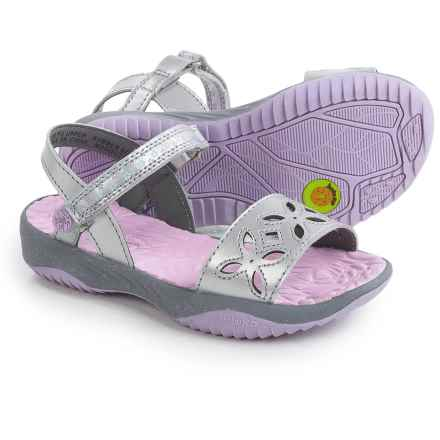 Jambu Ilia Sandals (For Little and Big Girls) in Silver - Closeouts