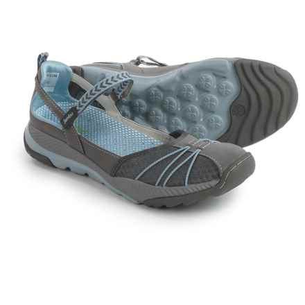 Jambu Iris Mary Jane Sneakers (For Women) in Grey/Stone Blue - Closeouts