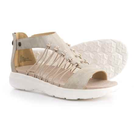 Jambu JBU Aruba Sandals - Vegan Leather (For Women) in Champagne - Closeouts