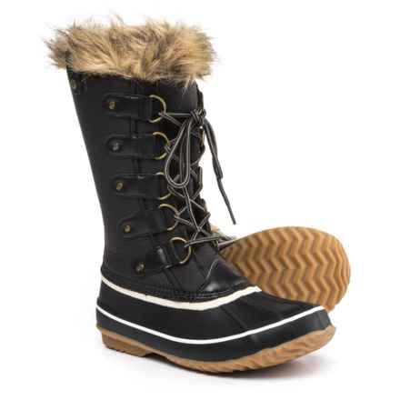 Jambu JBU Edith Pac Boots - Waterproof, Vegan Leather (For Women) in Black - Closeouts
