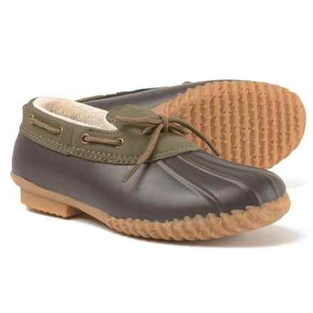 Jambu JBU Gwen Duck Shoes - Waterproof (For Women) in Hunter - Closeouts