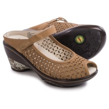 Jambu Journey Encore Wedge Shoes - Nubuck (For Women) in Oatmeal - Closeouts