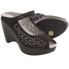 Jambu Journey Too Wedge Sandals (For Women) in Black - Closeouts
