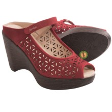 Jambu Journey Too Wedge Sandals (For Women) in Red - Closeouts