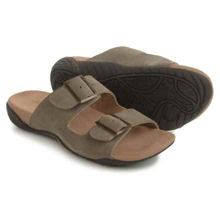 Jambu JSport by  Carina Sandals - Suede (For Women) in Taupe - Closeouts
