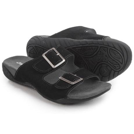 Jambu JSport Carina Sandals - Suede (For Women) in Black