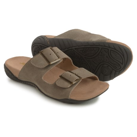 Jambu JSport Carina Sandals - Suede (For Women) in Taupe