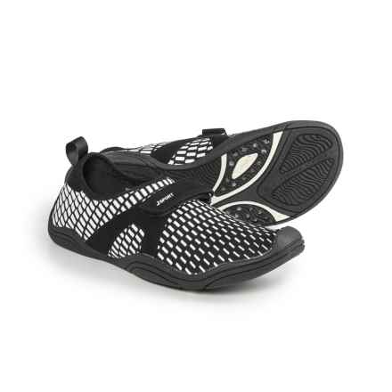 Jambu JSport Cycle Comfort Water Shoes - Slip-Ons (For Women) in Black/White - Closeouts