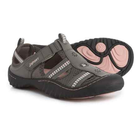 Jambu JSport Regatta Comfort Sport Sandals (For Women) in Dark Grey/Peony - Closeouts