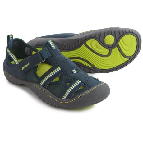 Jambu JSport Regatta Comfort Sport Sandals (For Women) in Navy/Kiwi