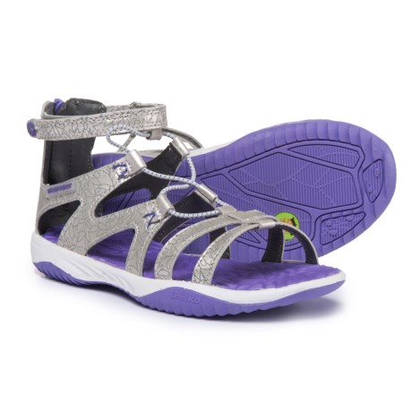 Jambu KD Leilani Sandals (For Girls) in Silver/Purple