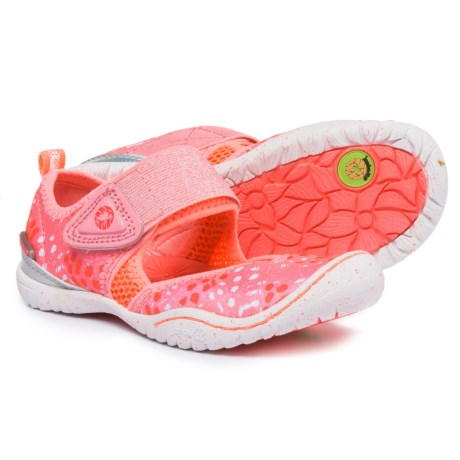 Jambu KD Roza Mary Jane Shoes (For Girls) in Pink/Coral