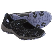 Jambu Lindsey Shoes - Leather (For Women) in Black/Lilac - Closeouts