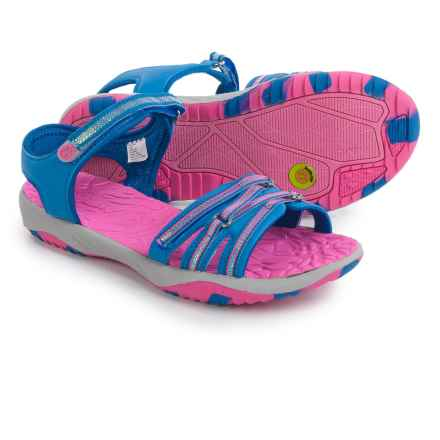Jambu Lowi Sport Sandals (For Little and Big Girls) in Blue - Closeouts