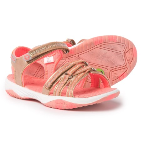 Jambu Lowi Sport Sandals (For Little and Big Girls) in Rosegold/Pink