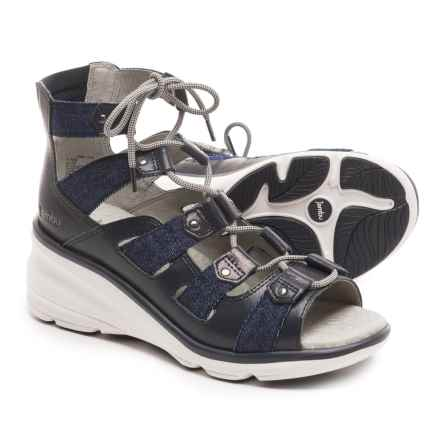 Jambu Milano Gladiator Sandals (For Women) in Navy - Closeouts