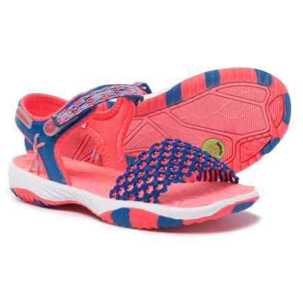 Jambu Mohala Watersport Sandals (For Girls) in Blue/Pink - Closeouts