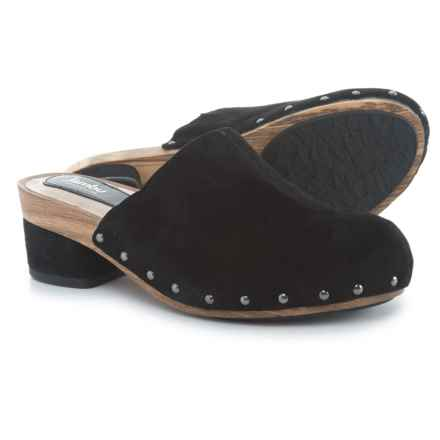 Jambu Monaco Clogs - Suede (For Women) in Black Solid - Closeouts
