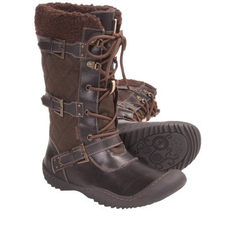 Jambu Mount Everest Vegan Snow Boots (For Women) in Brown