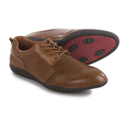 Jambu Munich-HYPERgrip® Oxford Shoes - Leather (For Men) in Chestnut - Closeouts