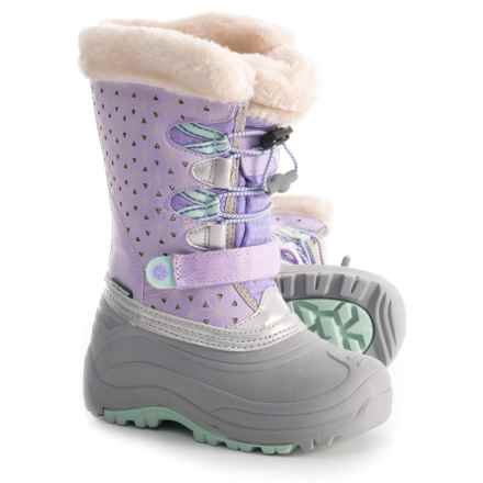 Jambu Nydia Snow Boots - Waterproof, Insulated (For Girls) in Lilac/Aqua - Closeouts