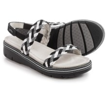 Jambu Ocean City Wedge Sandals (For Women) in Black - Closeouts
