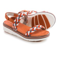 Jambu Ocean City Wedge Sandals (For Women) in Orange - Closeouts