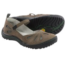 Jambu Pecan Mary Jane Shoes - Leather (For Women) in Grey - Closeouts