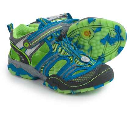 Jambu Piranha 4 Sport Sandals (For Little and Big Boys) in Green/Blue - Closeouts