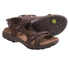Jambu Pluto Sandals - Nubuck (For Women) in Brown - Closeouts