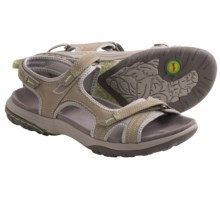 Jambu Pluto Sandals - Nubuck (For Women) in Grey - Closeouts