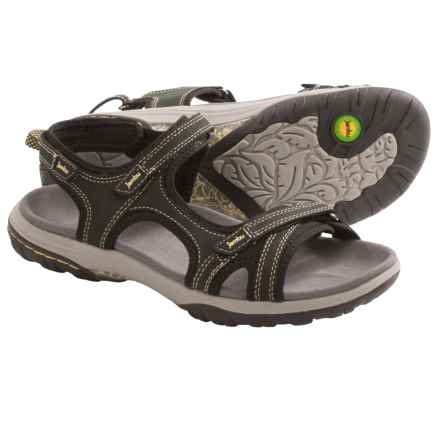 Jambu Pluto Sandals - Nubuck (For Women) in Midnight - Closeouts