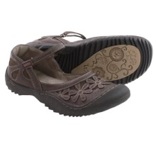 Jambu Rosetta Mary Jane Shoes - Vegan Leather (For Women) in Brown - Closeouts