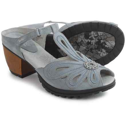 Jambu Sahara Sandals - Suede (For Women) in Grey - Closeouts