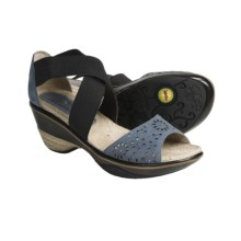 Jambu Santa Fe Wedge Sandals (For Women) in Blue - Closeouts