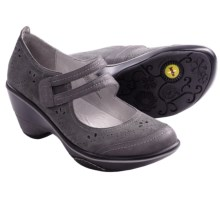 Jambu Scarlet Double Strap Shoes - Mary Janes (For Women) in Grey - Closeouts