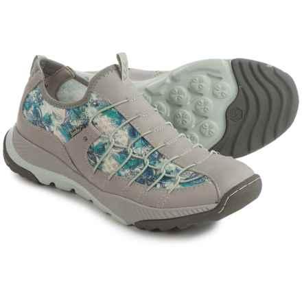 Jambu Sparrow Vegan Sneakers (For Women) in Light Grey/Green - Closeouts