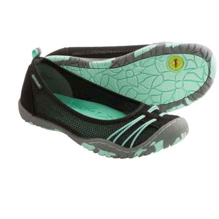 Jambu Spin Shoes (For Little and Big Kids) in Black/Light Turquoise - Closeouts
