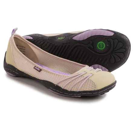Jambu Spin Too Shoes - Slip-Ons (For Women) in Tan/Lavender - Closeouts